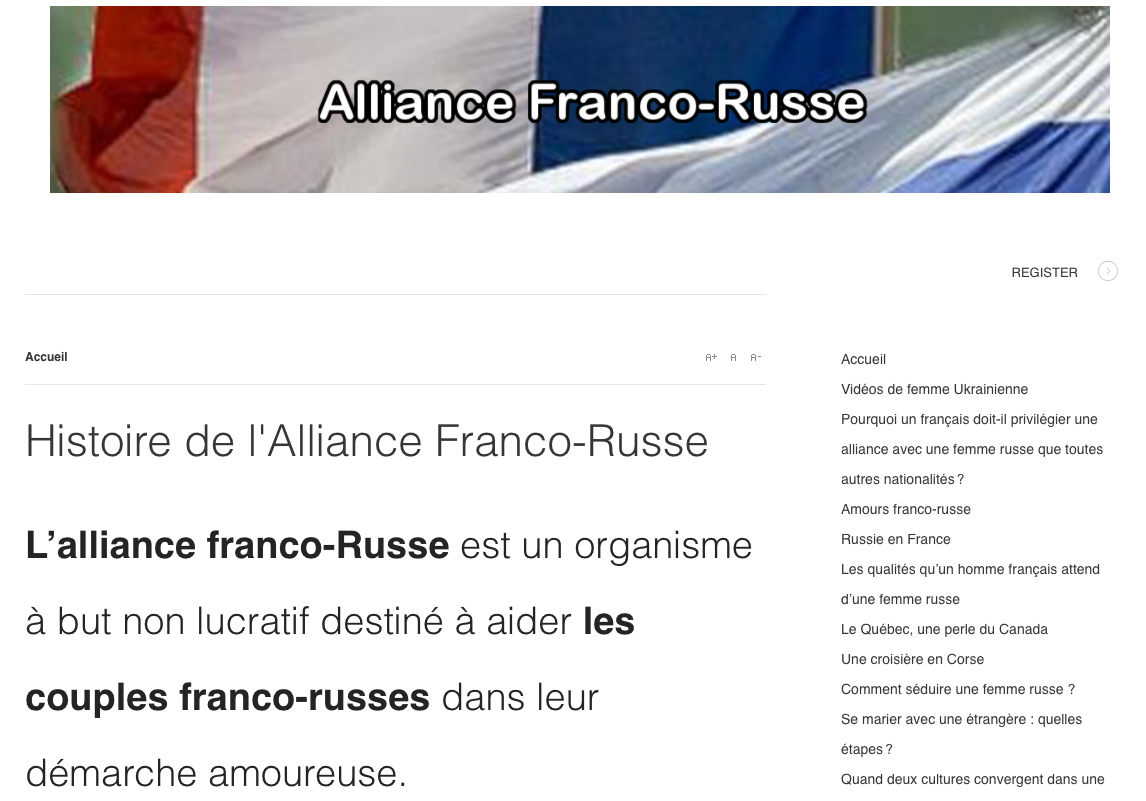 Alliance Franco-Russe.'1'